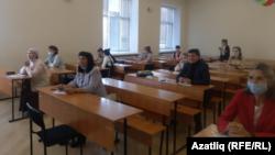 Башкорт дәүләт университетында диктант язучылар