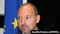 Руководитель представительства ЕС в Азербайджане Ролан Кобиа