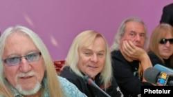 Рок-группа Uriah Heep в Ереване