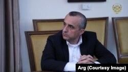 د افغانستان ولسمشر لومړی مرستیال امرالله صالح