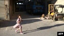 کودک سوری در حموریه