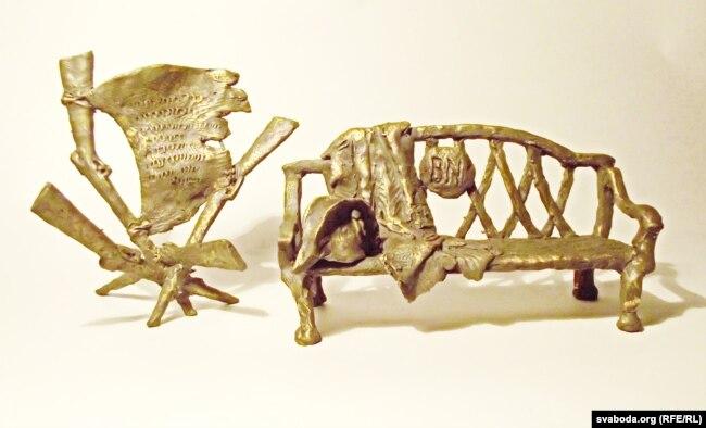 Проект «скамейки Наполеона», автор Владимир Теребун