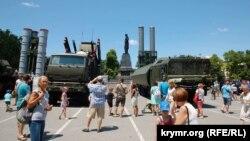 Виставка російської військової техніки в Севастополі 29 червня 2019 року
