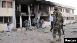 Архивска фотографија: Експлозија во провинцијата Тахар на 28 мај 2011 година.