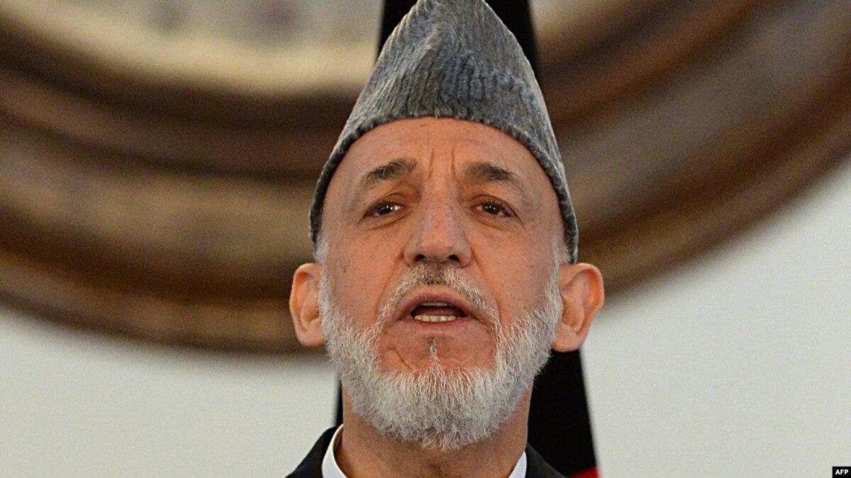 Karzai Says Afghan Peace Depends On U.S., Pakistan