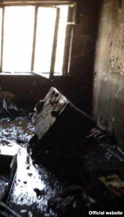Пожежа в гуртожитку на вулиці Чехова, Севастополь
