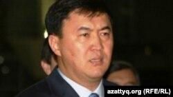 Кайрат Сатыбалдыулы, секретарь партии «Нур Отан». Астана, 7 октября 2010 года.
