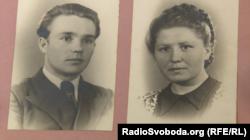Анастасія Гулей (справа) і її чоловік