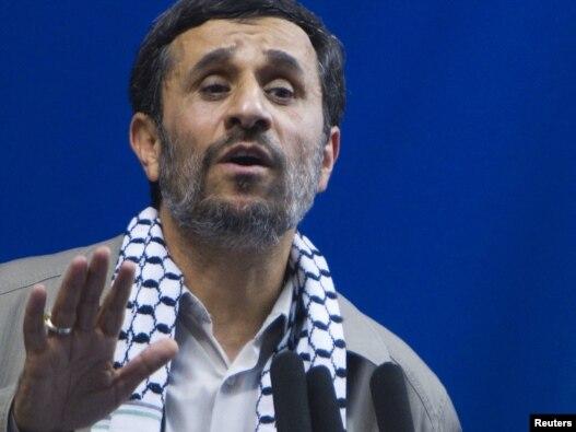 سخنرانی محمود احمدینژاد در تهران به مناسبت روز قدس