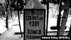Həşim Əliyevin Fəxri Xiyabanda qəbri