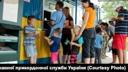 Админграница между Крымом и материковой частью Украины