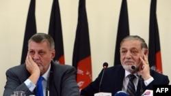 د افغانستان د انتخاباتو د خپلواک کمیشن او ملګرو ملتونو چارواکي