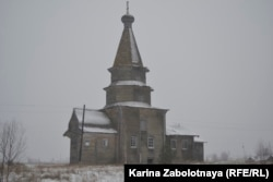 Никольская церковь, деревня Погост