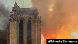 Paris Notre-Dame fire