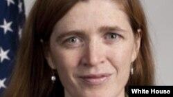 Постійний представник США при ООН Саманта Пауер