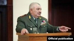 Начальник Генштаба ВС Армении, генерал-полковник Юрий Хачатуров (архив)