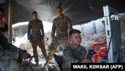 Вайскоўцыі NATO ў Аўганістане ў ліпені 2017 году