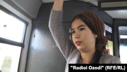 Амина Саидова, донишҷӯ.