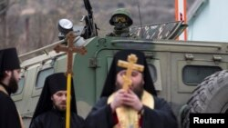 Украинага каршы сугышка әзерләнүче хәрбиләргә Урыс православ чиркәве дә фатиха бирә