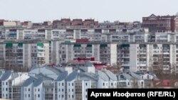 Томск. Современная застройка на месте исторического района. 2018