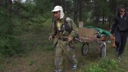 Shaman On Trek 'To Topple Putin' Seized By Masked Men