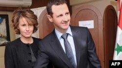 Башар Асад жубайы Асма менен