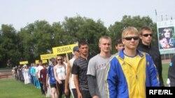 Кыргызстандын жеңил атлеттер командасы