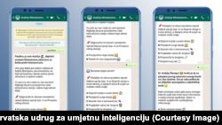 WhatsApp Andrija chat