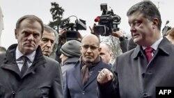Глава Евросовета Дональд Туск встречался недавно в Киеве с президентом Украины Петром Порошенко