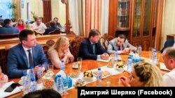Российские чиновники Крыма на встрече в ОАЭ