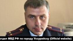 Полицейский Сергей Тлеуов