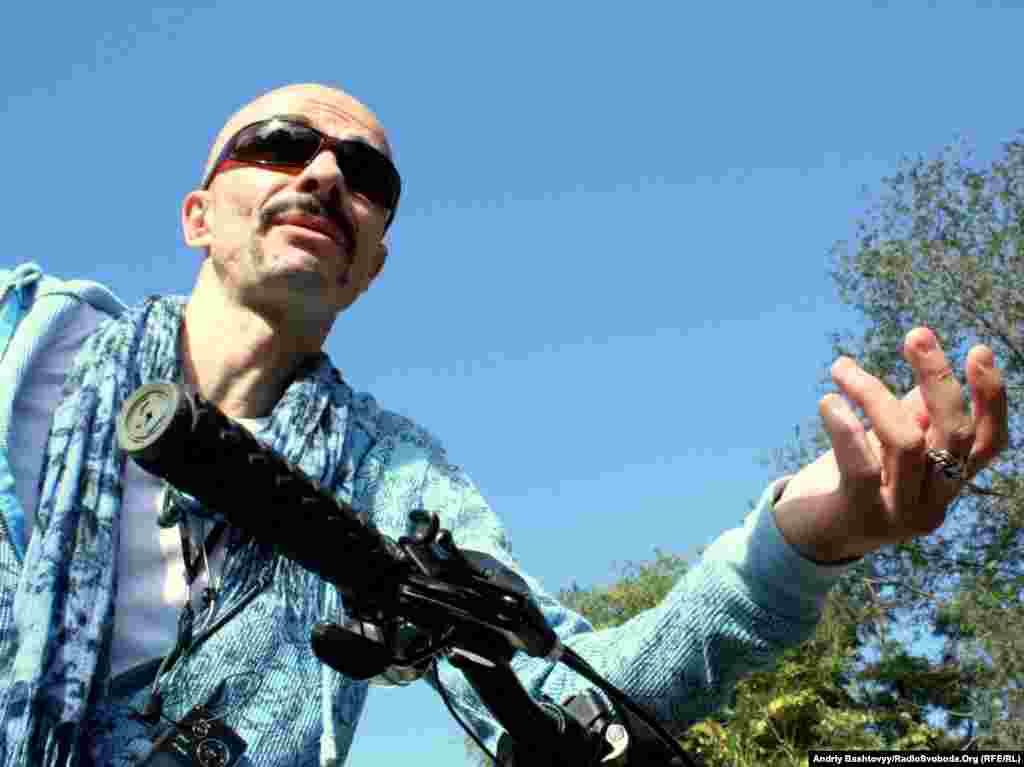 Лідер гурту «Гайдамаки» Олександр Ярмола