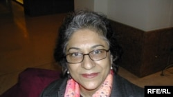 Asma Jahangir, the UN's special rapporteur on freedom of religion