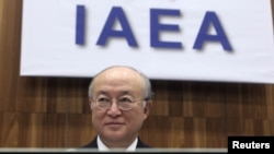 Austria -- IAEA Director-General Yukiya Amano prepares for a Board of Governors meeting at the IAEA headquarters in Vienna, 02Dec2010