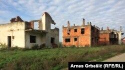 Kuće uništene u ratu