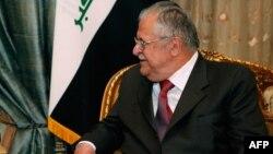 İraq prezidenti Jalali Talabani