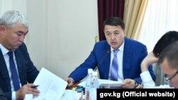 Вице-премьер-министр Замирбек Аскаров. 20 июня 2019 года.