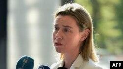 Шефицата за надворешна политика на ЕУ, Федерика Могерини
