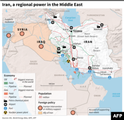 Infographic: Iran A Regional Power In The Middle East