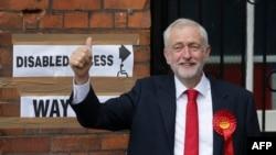 Джереми Корбин, лидер лейбористов.