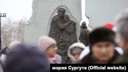 Сургут қаласында саяси қуғын-сүргін құрбандарына орнатылған ескерткіш.