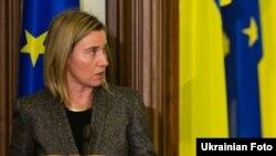 Шефицата на европската дипломатија Федерика Могерини