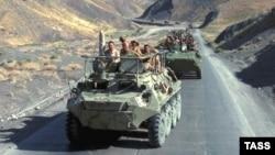 Одна из операций советских войск в Афганистане. 1988 год