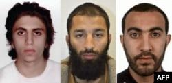 Trojica napadača Youssef Zaghba, Khuram Shazad Butt i Rachid Redouane