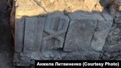Каменный фриз стены башни сельджукской работы