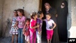 Газа тилкеси. Жакынын жоготкон палестиндер. 16-июль.