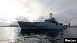 Корабель військово-морського флоту Великобританії (архівне фото)
