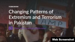 Wilson Center presentation on Pakistan (Daud Khattak participates)