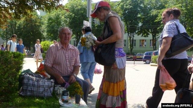 Спадар Станіслаў прывёз лекавыя травы, грыбы і ягады аж з Гарадзеншчыны