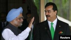 د پاکستان و هند وزیر اعظمان، یوسف رضا ګیلاني، ډاکتر منموهن سنګ